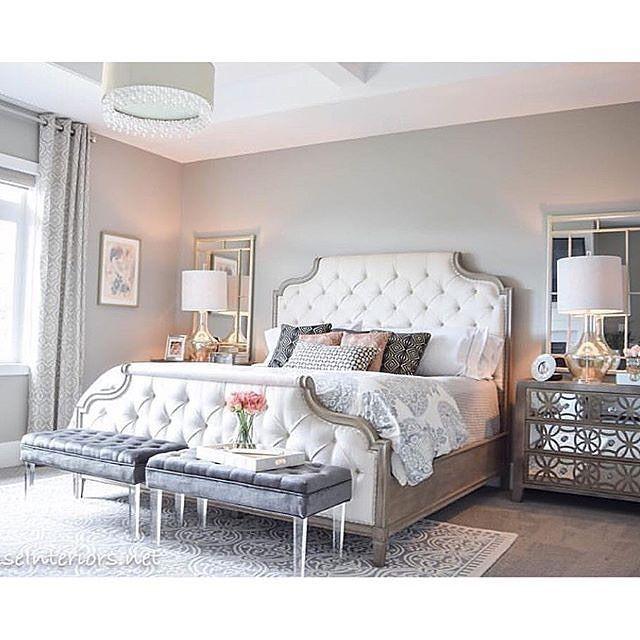Die besten 25+ White tufted headboards Ideen auf Pinterest Graue - schlafzimmer wnde neu gestalten