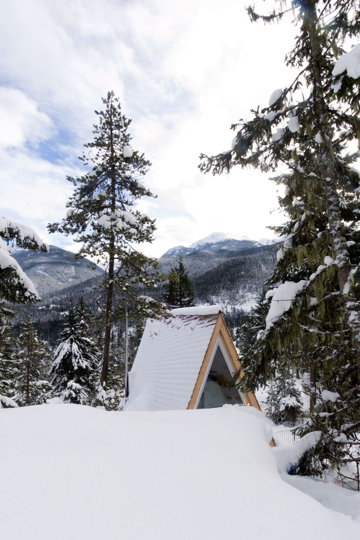20 best A frame images on Pinterest | A frame cabin, Log home and ...