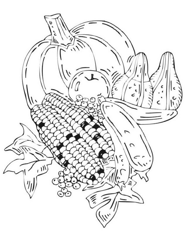 9 best fall fest coloring contest images on Pinterest
