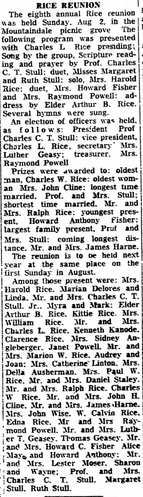 Found in The News in Frederick, Maryland on Tue, Aug 18, 1953.