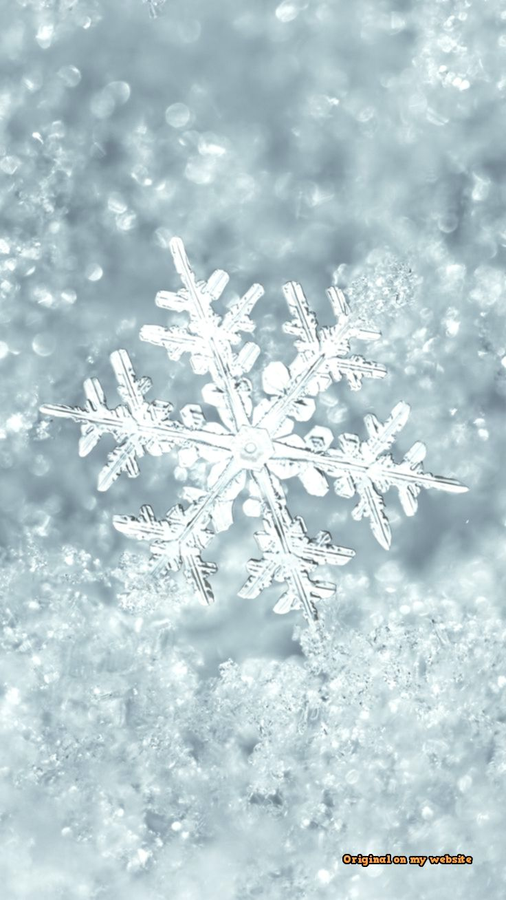 Iphone Wallpapers Ice Snowflake Iphone 7 Plus Wallpaper Iphone