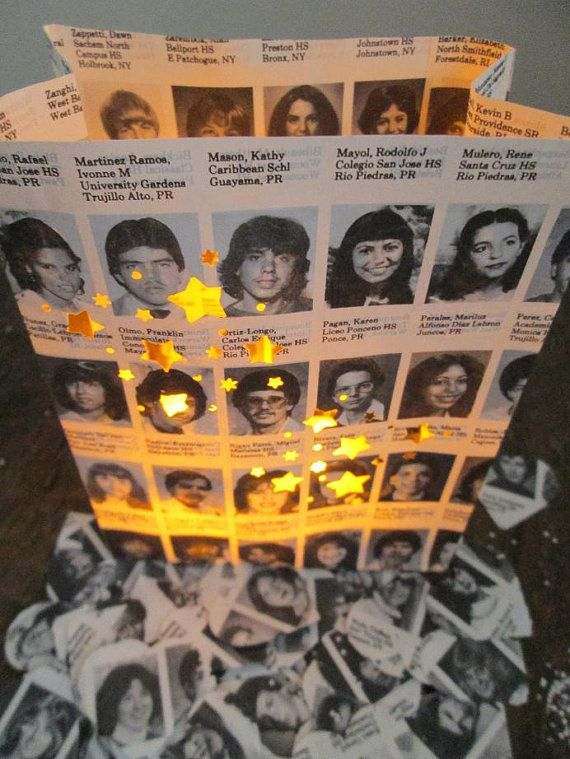 Cool Reunion Decorations 10 Luminaries Decorations For High School