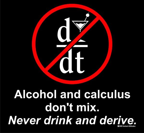 Never drink and derive T-shirt in Solopress Funny Friday printing blog