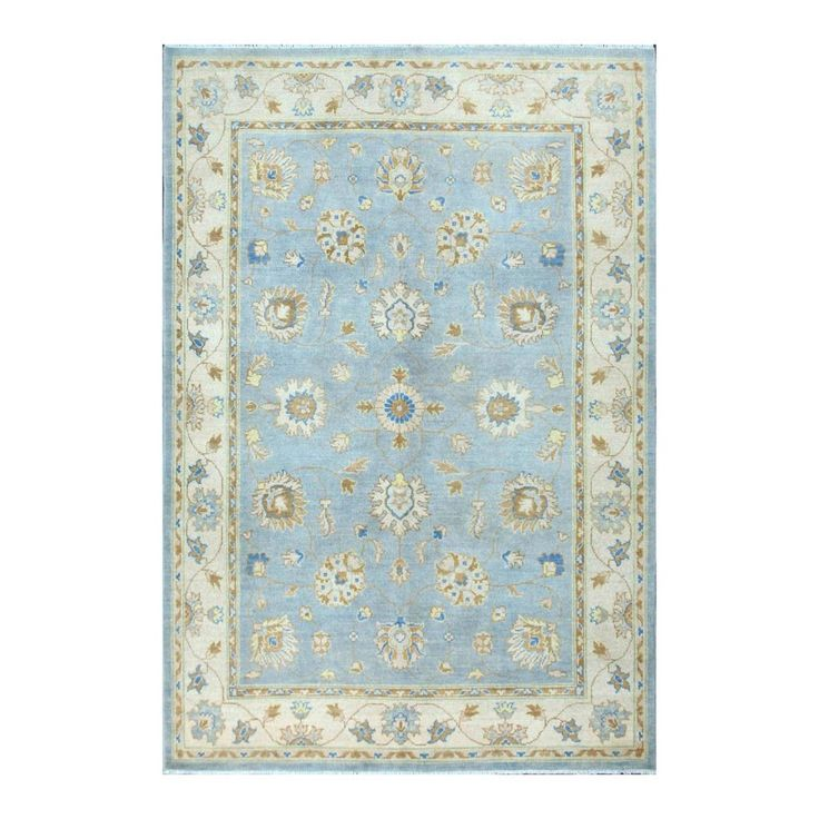 Vegetable Dyed Hand Knotted Floral Oushak Ivory Persian: 1000+ Images About Decorative RUGS On Pinterest