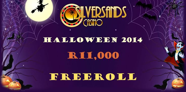 #SilverSandsCasino is happy to announce their #HalloweenFreeRollSlotTournament! Players can win their share of ZAR 11,000 or € 1,100 in our slot tournament on the Count Spectacular slot machine. This tournament has been created with the rebuy option to better players chances of posting a great score! Valid until the 31st of October and is available to both ZAR and Euro players.  Click here to play now: www.onlinecasinobonus.co.za