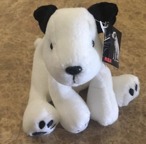 RCA Nipper Dog Bean Bag Plush With Tag By AdGap Group Collector Series I  | eBay