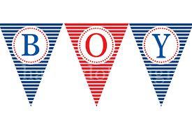 Risultati immagini per banderines nauticos para nombres para imprimir