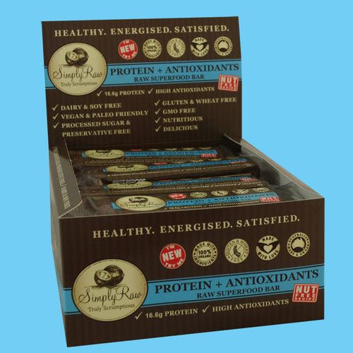 Simply Raw Bars are a premium organic raw super food products with a focus on quality, flavor and nutrition.