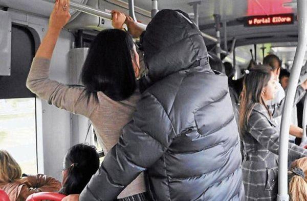 Impune, acoso sexual en transporte público