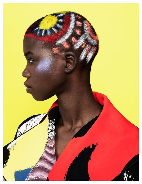 Artistic Tribal Editorials - Nykhor Paul Stars in the Latest Elle Mexico May 2014 Issue (GALLERY)