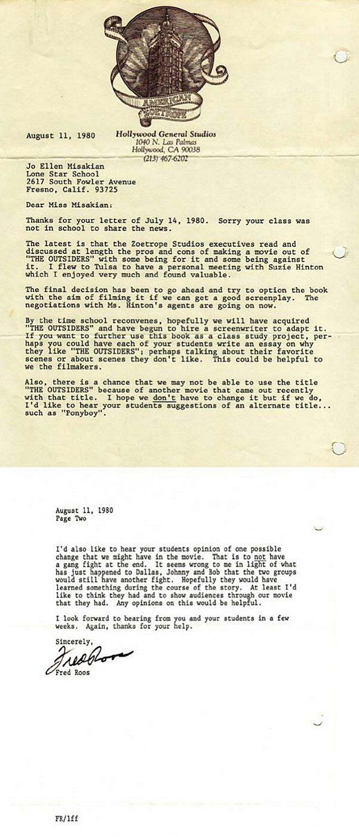 letter from a teacher to Francis Ford Coppola Make  - copy fresno california birth certificates