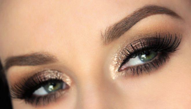 Uwodzicielski makijaż oczu - Kim Kardashian