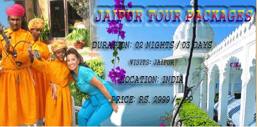 Jaipur Tour packages  Visit to jaipur for make plan holiday trip with guidance to travel agent from New Delhi. Along with comfortable prices     Duration: 02 Nights / 03 Days Visits: Jaipur Location: India Price: Rs. 2999 /- pp  http://www.rajasthanholidaypackage.com