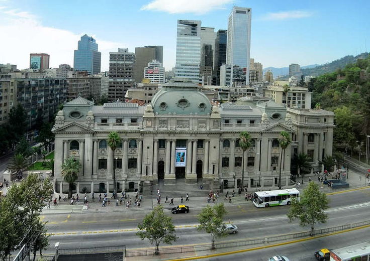National Library, Santiago, Chile