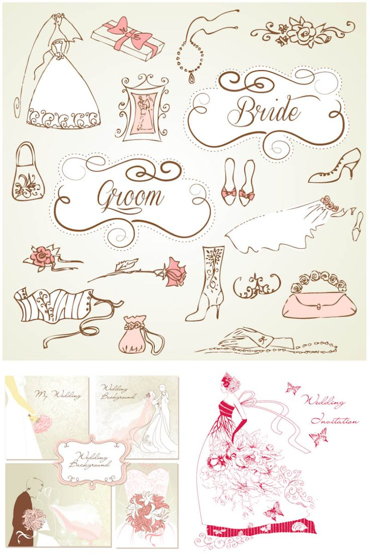 38 best clipart images on pinterest baby showers invitations and decorative wedding design elements vector stopboris Gallery