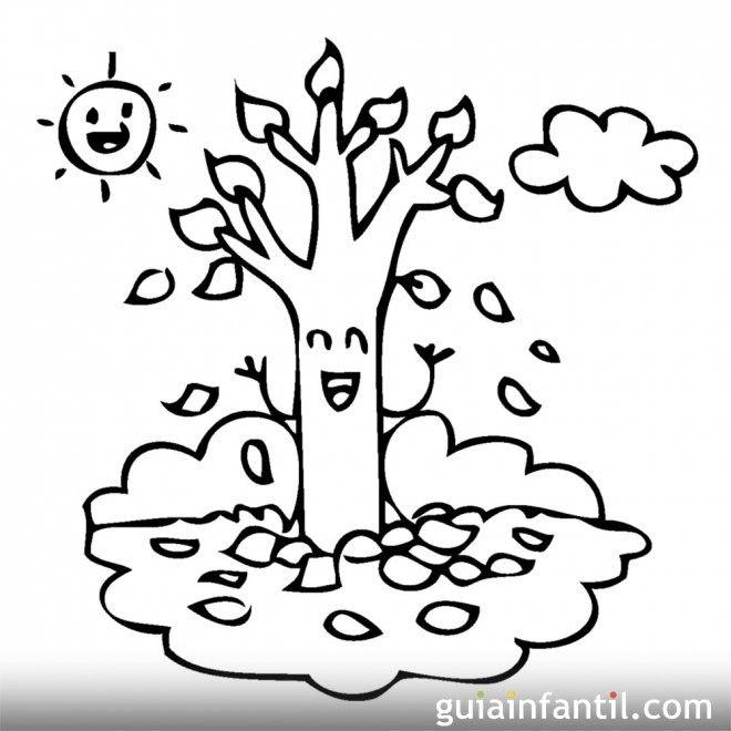 4604 4 Dibujos Infantiles Arbol En Para Colorear 20 Pagina Para Colorear Arboles En Otono Dibujos De Otono Dibujos