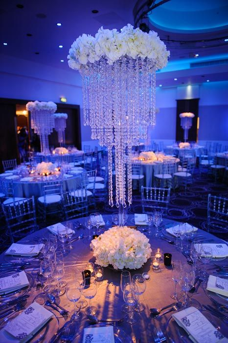 34 best chandelier centerpieces images on pinterest centerpieces a modern and glamorous nigerian wedding in london aloadofball Images