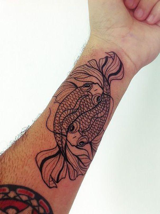 Best IBeing A Gemini I MyHubbyThe Pisces Tattoos Etc - 30 unique pisces tattoos design ideas boys girls