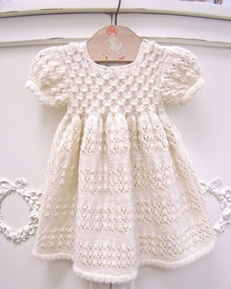 Organic Short Sleeve Hand Knit Smock Dress by Zia & Tia