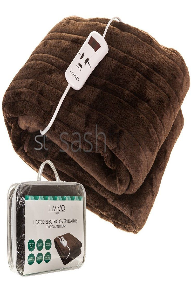 Large Electric Heated Throw Fleece