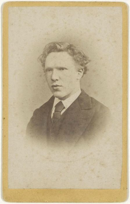Vincent van Gogh aged 19, January 1873 -by J.M.W. de Louw