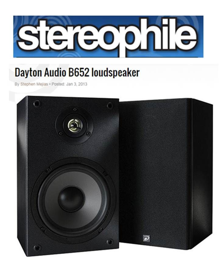 Check out this B652 Stereophile review! http://www.stereophile.com/content/dayton-audio-b652-loudspeaker