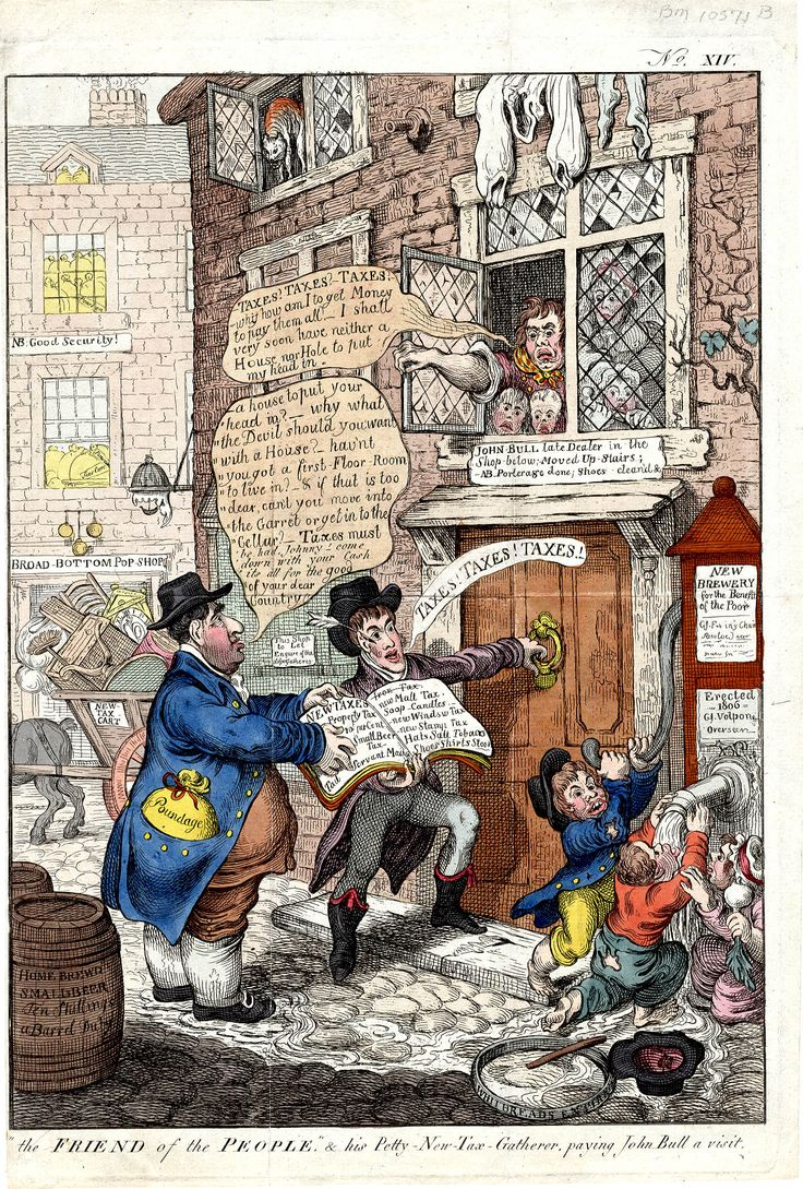 James Gillray, Friends of the people