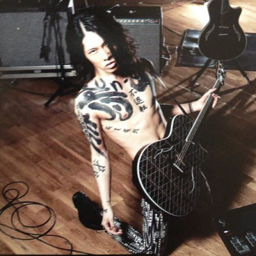 17 best images about shirtless guys on pinterest daniel for Miyavi tattoos gallery