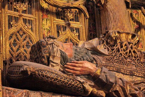 Detail L'arbre de Jessé de la cathédrale Sainte-Marie de Burgos (Le blog de jean-yves cordier)