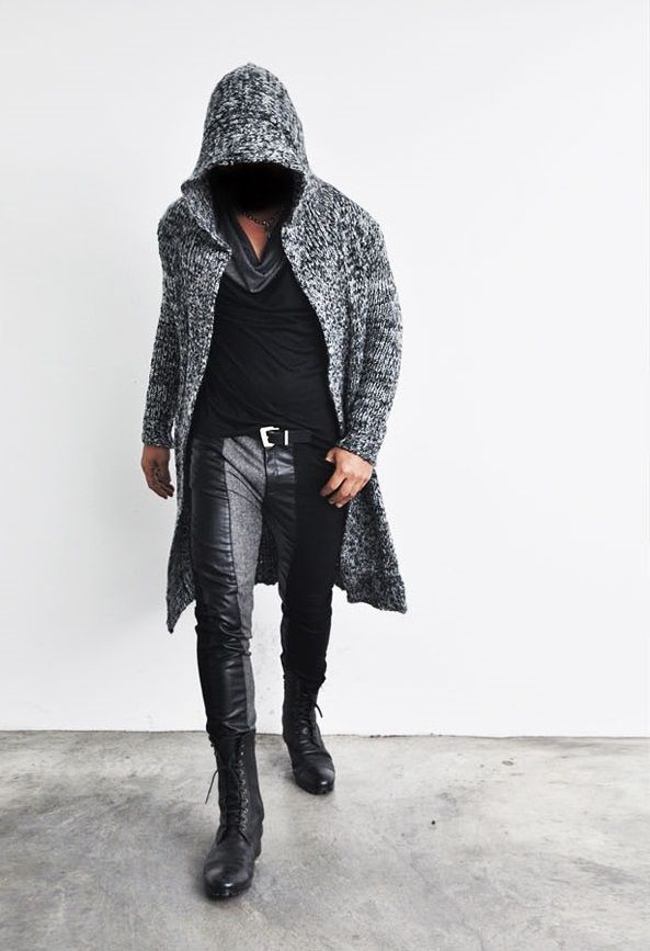 The product Edge Long Hood Chunky Knit Cape Coat 59 Streetwear Knit Coat is sold by SNEAKERJEANS STREETWEAR SHOP & SNEAKERS SHOP in our Tictail store.  Tictail lets you create a beautiful online store for free - tictail.com
