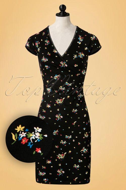 King Louie - 60s Christine Honfleur Cross Dress in Black