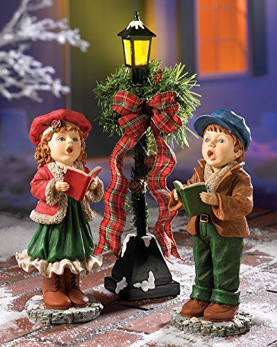Christmas Carollers Figurine Set * Check out this great product. (This is an affiliate link) #CollectibleFigurines