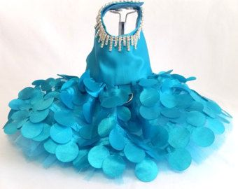 Dog Harness Dress Western Cowgirl Bling by KOCouture on Etsy