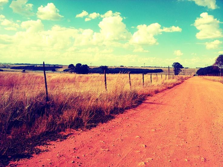 somewhere between Pretoria and Delmas...