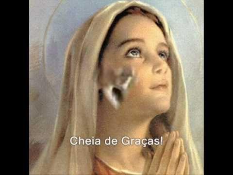 """Ave Maria"" Celine Dion-_Hermosos mensajes de la Reina de la Paz. BENDITA ERES MARIA - YouTube"