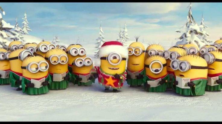 Los minions cantando un villancico. #humor #risa #graciosas #chistosas #divertidas
