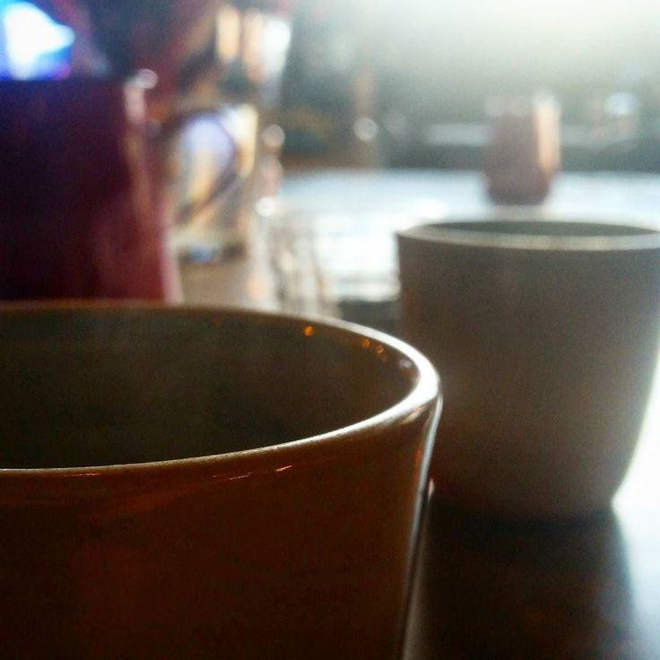 Steamy arvo Geishas.  Beautiful clean Elida Estate.  #stali #coffeemadeperfect #geisha #coffee #melbourne #icon #thebest #yolo