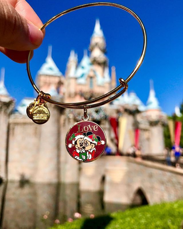 ALEX AND ANI Disney Holiday 2016 Charm bangles | Available at disneystore.com and the stores at the theme parks