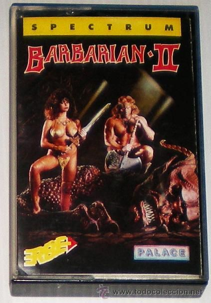 Barbarian 2 The Dungeon of Drax [Palace Software] 1988 - Erbe Software [ZX Spectrum]