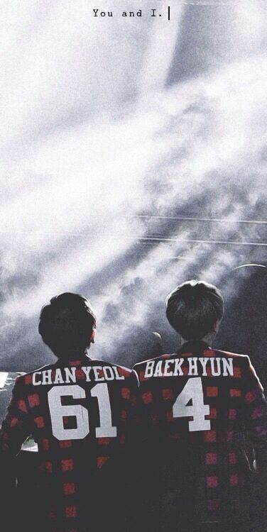 I really haven't seen any good relationship, a real relationship just like chanbaek