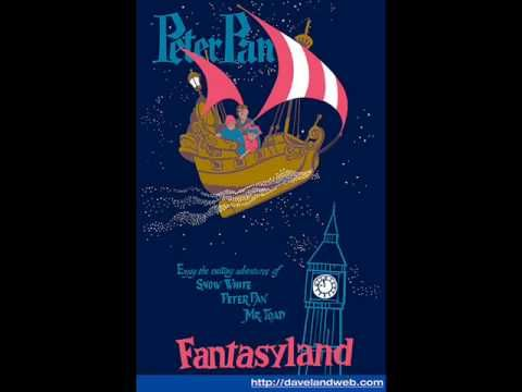 Peter Pan's Flight Music. This is my most favourite ride at Disneyland :)