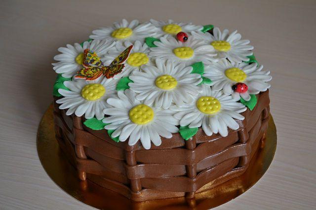 Торты оформление тортов мастер класс