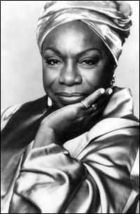 Nina Simone, singer, songwriter, pianist and civil right activist. Love me or leave me...