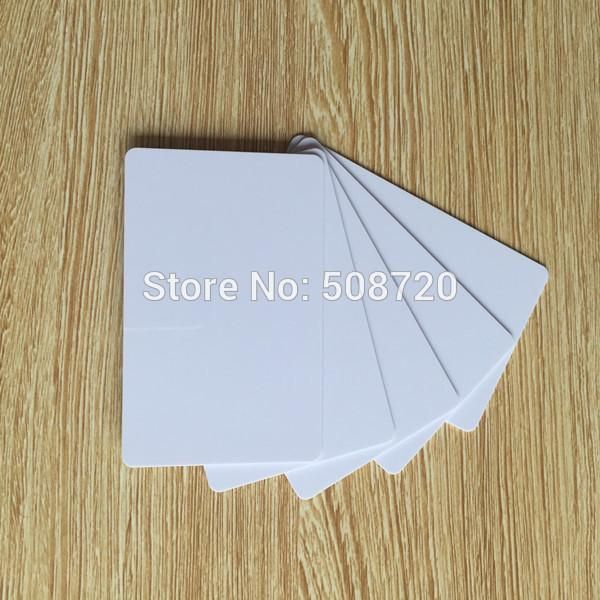 [Visit to Buy] 10pcs The Best PVC PLASTIC Blank ID Card Credit Card thin CR80 Available for Card printer #Advertisement