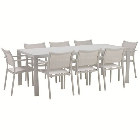 Torquay 9 Piece Dining Package | Freedom Furniture and Homewares $1299 #freedomaustralia