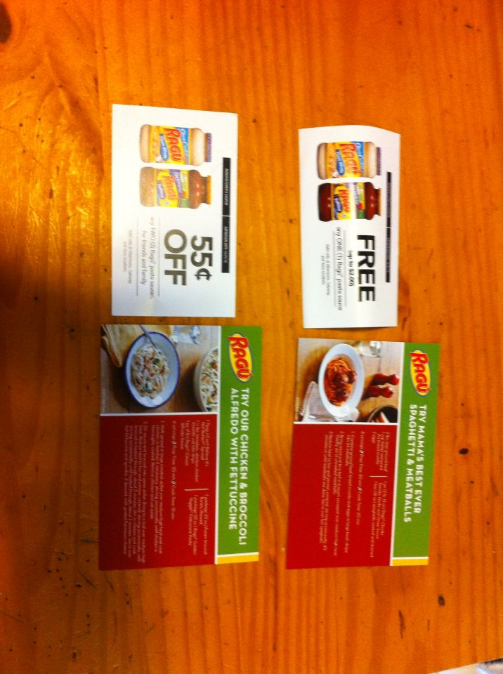 Free ragu coupons to try and review