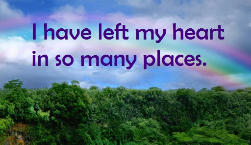Where have you left your heart? #travel #quote #WorldVentures