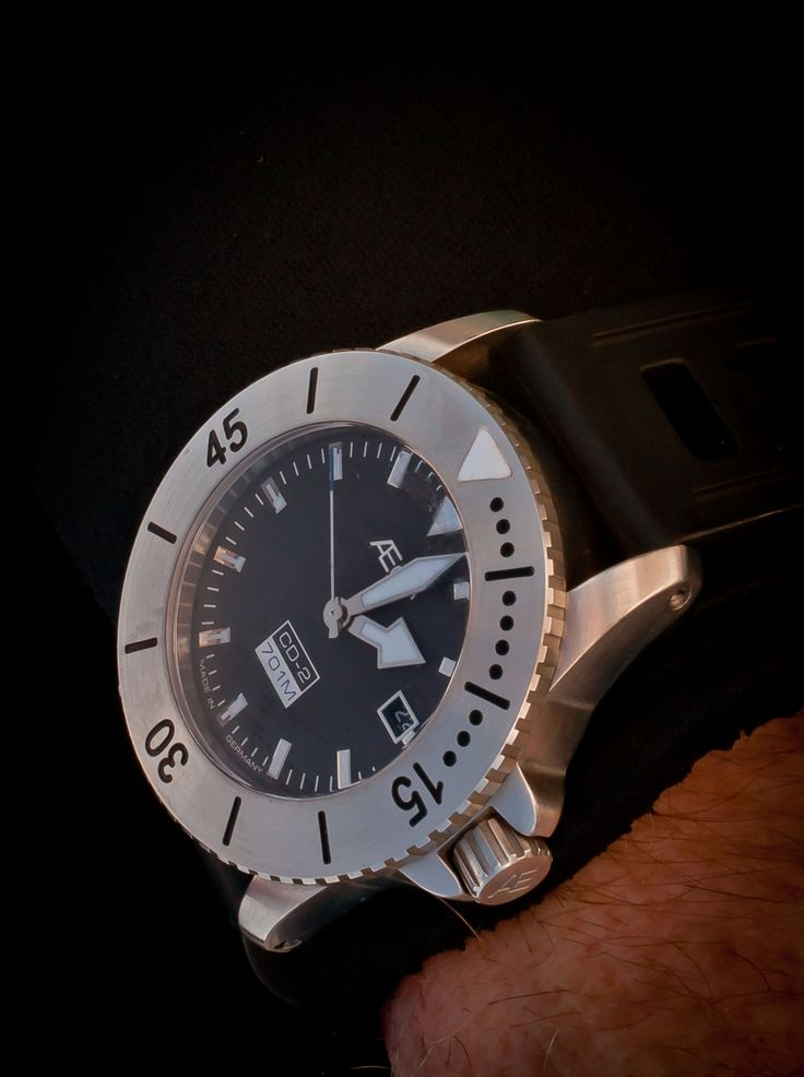 701M divers watch, the Aegir CD-2