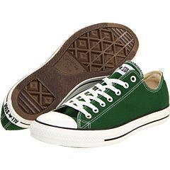 Green Chuck Taylors. :)