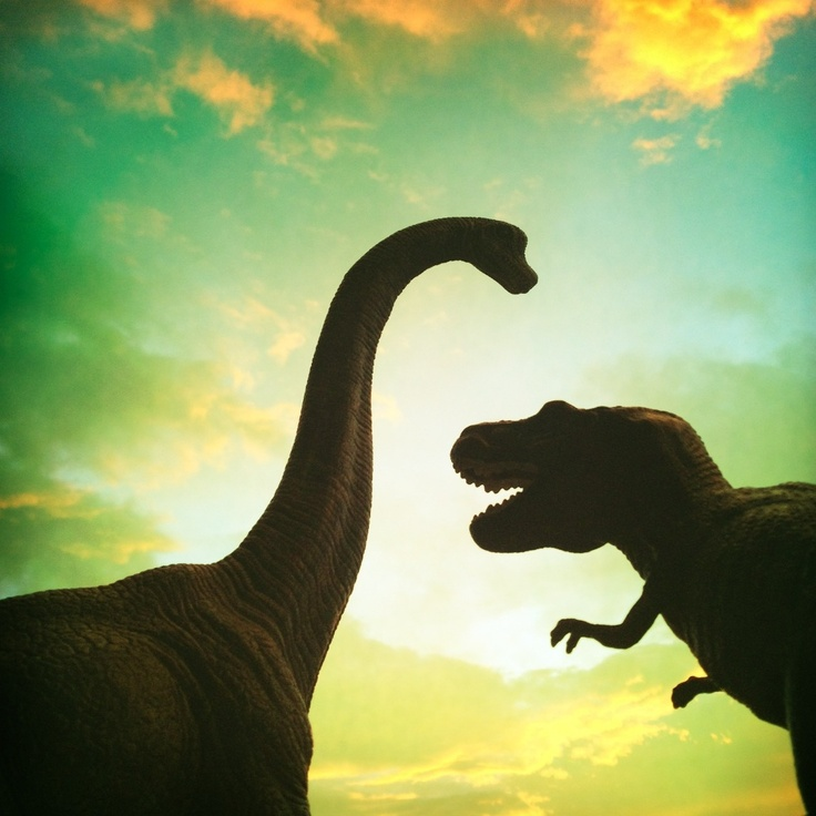 Fellow Brachiosaurus couldn't believe his ears when T-Rex told him about his T-Awesome adventures at Italian Instameet in Turin!!! T-